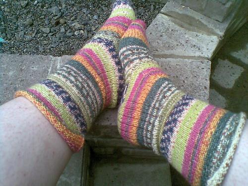 Tantalising socks