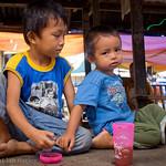 Unhappy kiddies, Hilongos market, Leyte, Philippines.