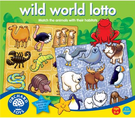 wild world lotto orchard toys