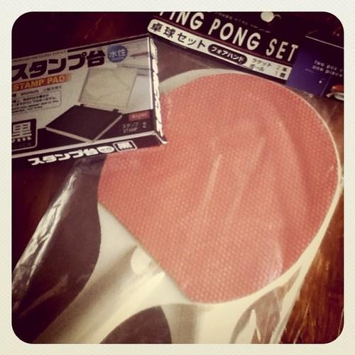1) pingpong