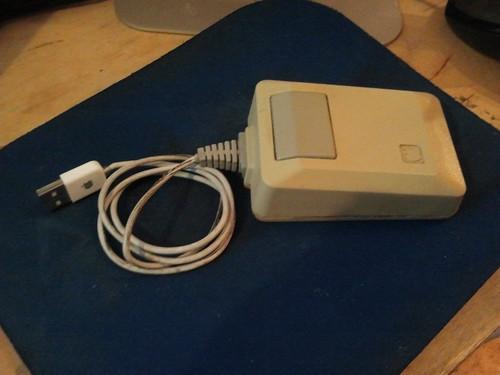 Vintage Macintosh Mouse Case Mod