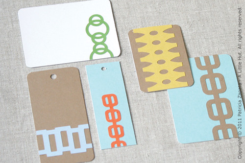 tags and journaling cards