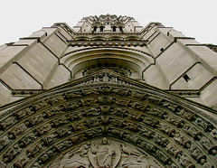 The Riverside Church of New York (robertvena) Tags: city nyc newyorkcity urban ny newyork art church architecture buildings photography design riverside cathedral manhattan gothic structures scene architecturalelements robvena robertvena robertavena