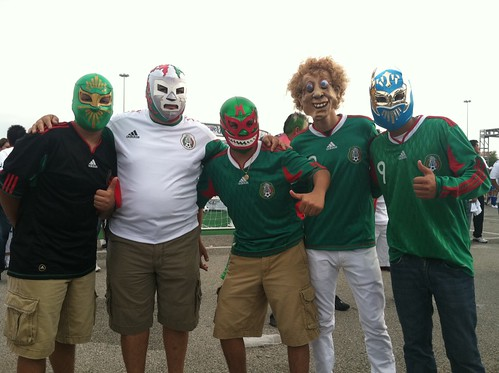 Mexico Fans at Gold Cup 2011 Final