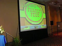 Screen of game show Family Feud from Joyce Valenza's Flickr stream