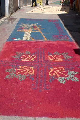 Alfombras del Corpus Christi 2011