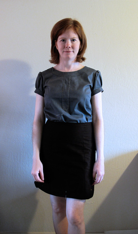 Lisette Market Skirt and Blouse Muslins
