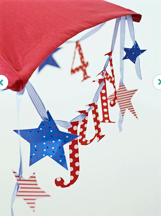 Easy DIY Decorations for the Fourth of July from BHG
