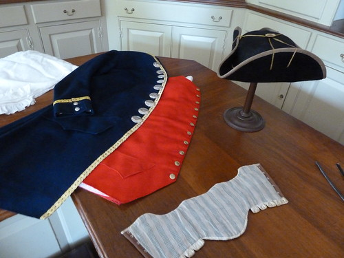 Colonial Williamsburg tailor's wares