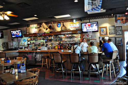 Bar at JJ's Bierstube ~ White Bear Lake, MN