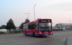 Early Riser (leszee) Tags: city uk bus buses early floor low evolution 90 picadillyline riser earlyriser mcv metroline greaterlondon hattoncrossstation northolt mcvevolution man12240 manufacturingcommercialvehicles a30greatsouthwestroad hattoncorssbusstation