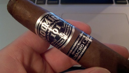 It seems like forever since I've had a @Room101Cigars. Found this one buried in the cooler. I think @jcruz sent it.