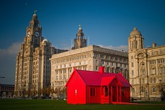 The Abba House (petecarr) Tags: liverpool biennial 3graces
