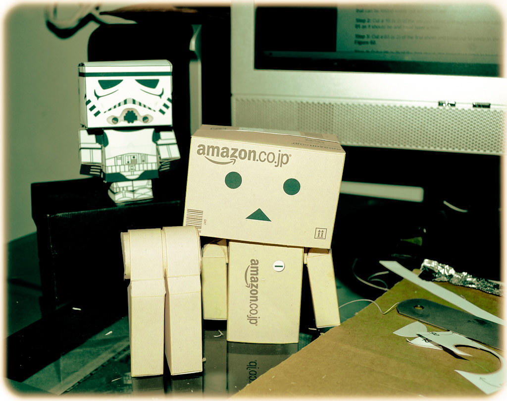 Danbo Papercraft Project