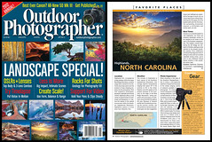 Outdoor Photographer Magazine Cover and Feature! (Dave Allen Photography) Tags: morning travel light sun sunlight mountain mountains nature fog dave clouds sunrise magazine landscape outdoors photography landscapes nc spring highlands nikon published photographer allen outdoor fineart seasonal north foggy scenic northcarolina wideangle adventure nd hendersonville carolina vista op appalachian grad publishing appalachia blueridgemountains feature blueridge daveallen publish appalachians wnc featured highlandsnc westernnorthcarolina outdoorphotographermagazine d700