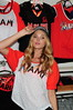 Model Elsa Hosk Victoria's Secret PINK Nation Launches MLB Collection at Dolphin Mall Miami, Florida