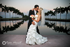 Miami Wedding Photography (Ryan Merrill) Tags: ocean wedding beach water couple key miami biscaynebay weddingphotography deeringestate ryanmerrill westpalmbeachweddingphotographer southfloridaweddingphotography