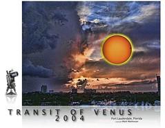 2004 Transit of Venus poster