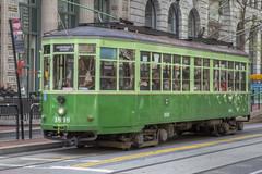 Muni 1818 Milan Streetcar (knelson27) Tags: street market trolley railway muni streetcar 2014msrcalendar