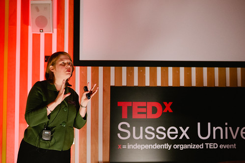 Lynne Murphy speaking at TEDxSussexUniversity 2012