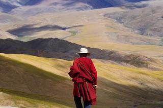 Landscape around Tibetans.