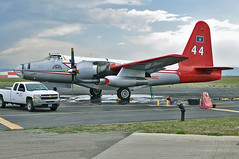 P-2E Neptune Airtanker #44 (skyhawkpc) Tags: rockymountainmetropolitanairport kbjc bjc jeffco co garyverver allrightsreserved nikon bouldermunicipalairport bma d90 neptuneaviationservices lockheed p2v5 128422 neptune p2e copyright kbma boulder colorado gverver