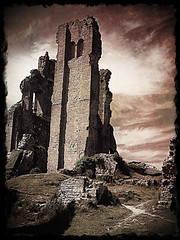 """Corfe Castle • <a style=""""font-size:0.8em;"""" href=""""http://www.flickr.com/photos/44919156@N00/7406541450/"""" target=""""_blank"""">View on Flickr</a>"""