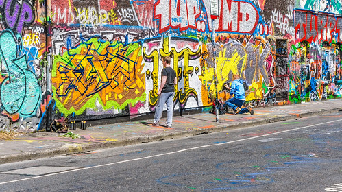 Artists At Work - Dublin Street Art (Windmill Lane)