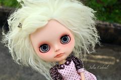 Custom mohair girl
