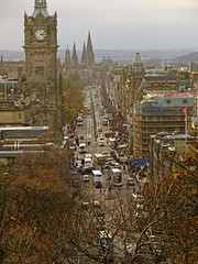 Rush Hour (RoystonVasey) Tags: street city people canon scotland edinburgh powershot princes crowds hs sx260