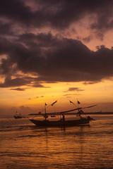 DSC_3553 (deoka17) Tags: sunset bali tuban kuta jukung romanticsunset pantaikedonganan