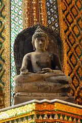 Buddha (Prairie_Wolf) Tags: statue thailand seasia southeastasia bangkok buddha grandpalace travelphotography rachelmackayphotography