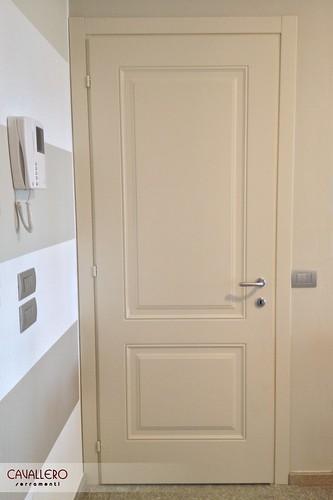 Porta pantografata a due pannelli 111CP
