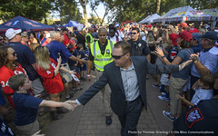 Week in Photos - 49 (Ole Miss - University of Mississippi) Tags: 2016 ctg0431 athletics sports football footballvsgeorgia vaughthemingwaystadium vhs grove walkofchampions fans hughfreeze oxford ms usa
