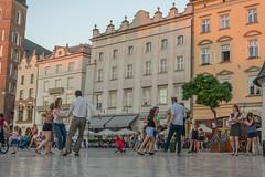 square dancing (stevefge) Tags: krakow poland oldtown squares people girls candid dancing dance reflectyourworld
