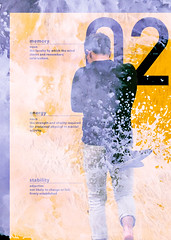 energy pallet (Stephen Foster Meyer) Tags: stephen meyer stephefostermeyer design photography graphic poster layout yellow portrait diagram conceptual text texture numbers water energy dynamic movement color contrast stability memory experimental portraiture san francisco lands end site art magazine print page