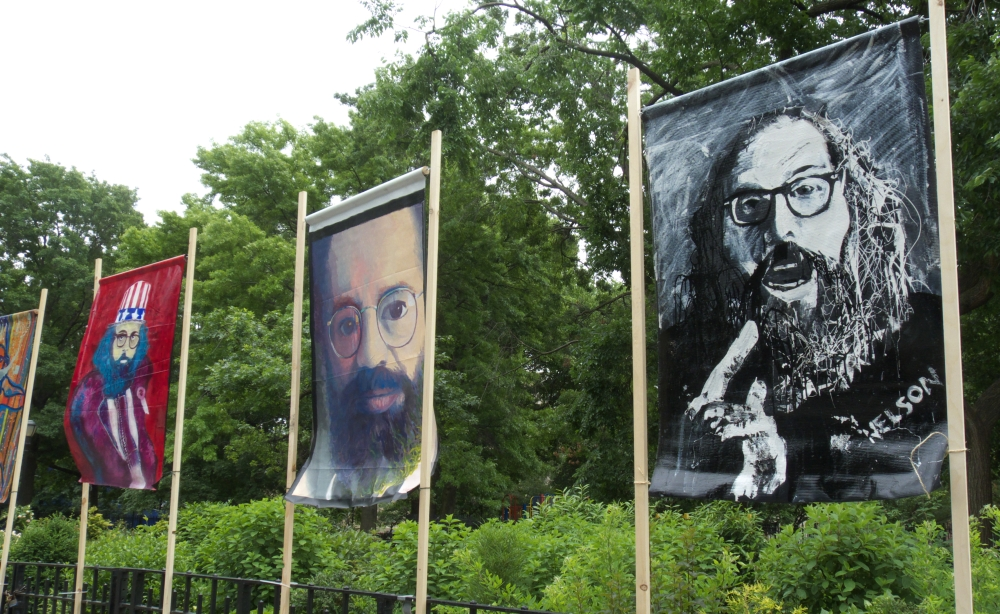 Portraits of Allen Ginsberg