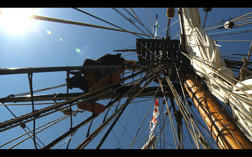 Climbing The Rigging