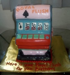 slot machine cake royal flush (gr8chefmrd) Tags: philadelphia bakery custom specialty imagicakes