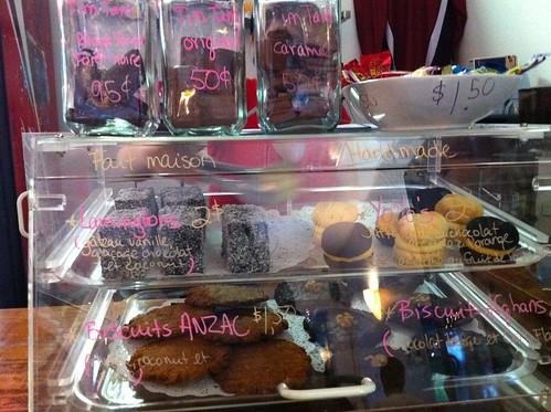 baked goods @ Tourtiere Australienne (TA, Ave. du Parc)