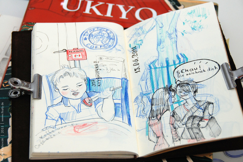 Quickly sketches: café