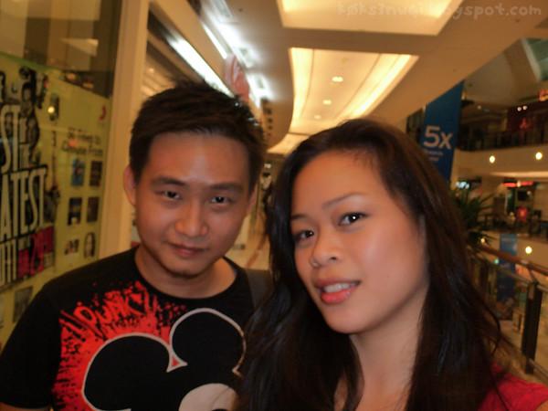 Terri and I