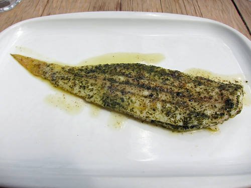 Slip Sole Grilled in Seaweed Butter