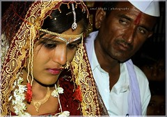 'The Tears'! (amol khade) Tags: wedding indian marriage maharashtra tradition marathi maharashtrian