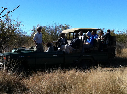 First Lady and her family on Safari in Madikwe Game Reserve