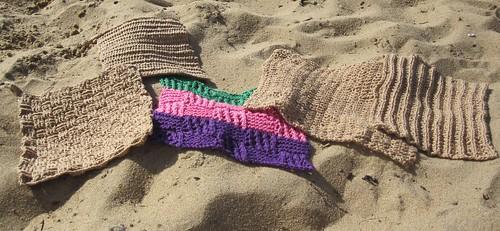 Kluter i sanden