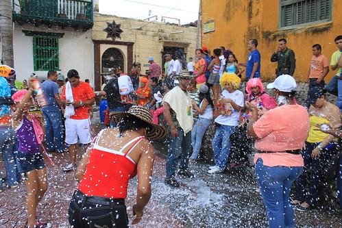 Carnival & foam