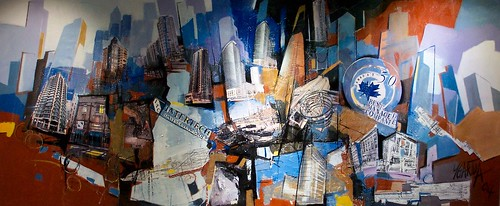 Vancouver City Art - Painting - Abstract