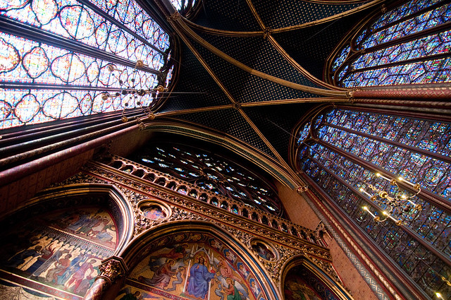 Rear of Sainte-Chapelle