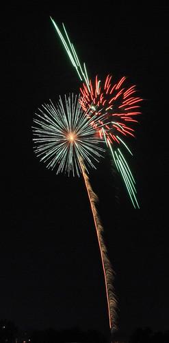 Saturn Fireworks
